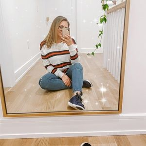 Brandy Melville Striped Knit Sweater